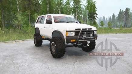 Nissan Pathfinder 4-door (WD21) 1990〡off-road для MudRunner