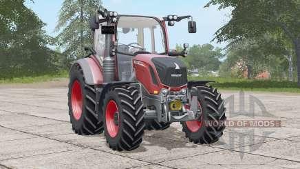 Fendt 300 Vario〡Dynamic Hoses verbaut для Farming Simulator 2017