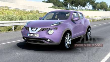Nissan Juke (YF15) 2015 v1.5 для American Truck Simulator