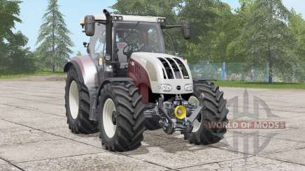 Steyr 6100 CVT〡interior lighting для Farming Simulator 2017