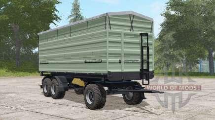 Casella three-axle trailer для Farming Simulator 2017