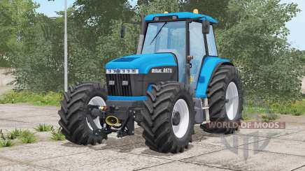 New Holland 70-series〡weight or front stroke для Farming Simulator 2017