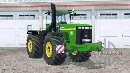 John Deere 9420〡real exhaust для Farming Simulator 2015
