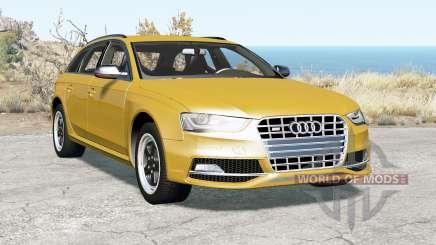 Audi S4 Avant (B8) 2012 для BeamNG Drive