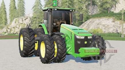 John Deere 8R series〡BR version для Farming Simulator 2017
