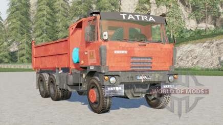 Tatra T815 6x6 Dump Truck для Farming Simulator 2017