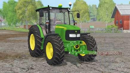 John Deere 5080M〡interactive control для Farming Simulator 2015