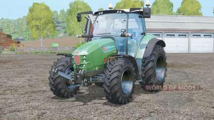 Hurlimann XM 130 T4i V-Drive〡Lime Edition для Farming Simulator 2015
