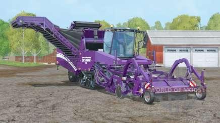 Grimme Tectron 415〡working speed 20 km-h для Farming Simulator 2015