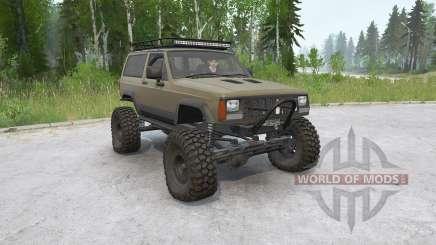 Jeep Cherokee 2-door (XJ) 1993〡off-road для MudRunner