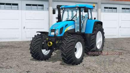 New Holland T7550〡animated fuel gauge для Farming Simulator 2015