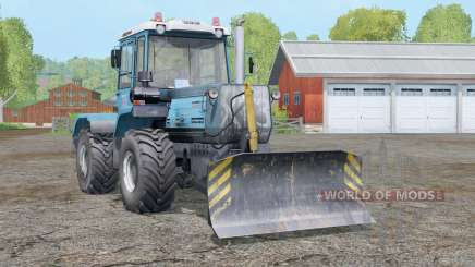 Т-150К-09-25〡укомплектован отвалом для Farming Simulator 2015
