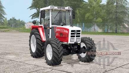 Steyr 8090A Turbo〡dynamic exhaust для Farming Simulator 2017