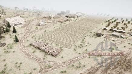 Сельхозугодья в тайге для MudRunner