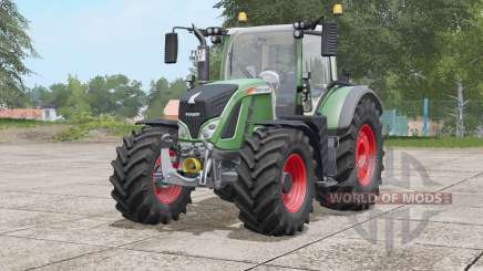 Fendt 700 Vario〡wide tyres with weights для Farming Simulator 2017
