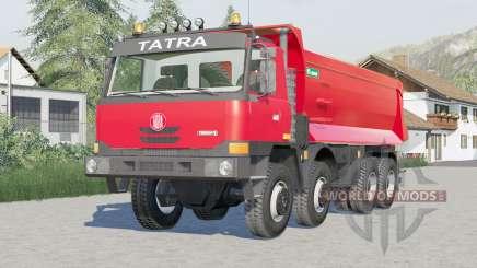Tatra T815 TerrNo1 8x8 Dump Truck 2003 для Farming Simulator 2017