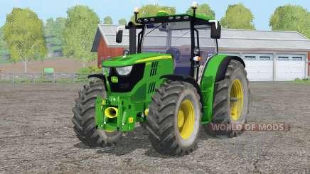 John Deere 6170R〡animated hydraulic для Farming Simulator 2015