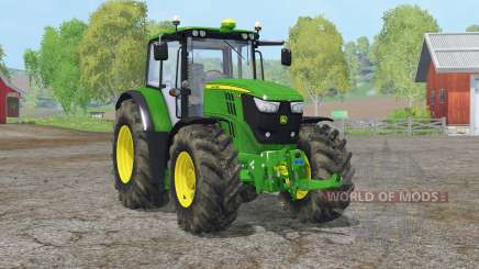 John Deere 6170M〡movable rear attacher для Farming Simulator 2015