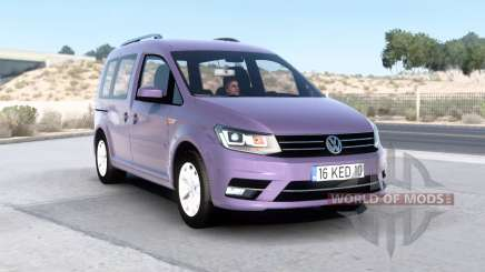 Volkswagen Caddy (Type 2K) 2016 v1.6 для American Truck Simulator