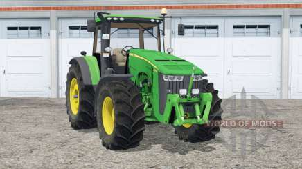 John Deere 8370R〡animated steering для Farming Simulator 2015
