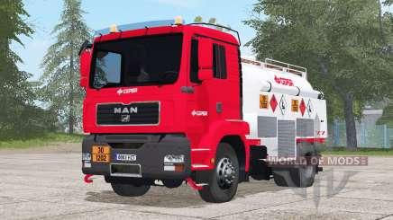 MAN TGM Fuel Truck для Farming Simulator 2017