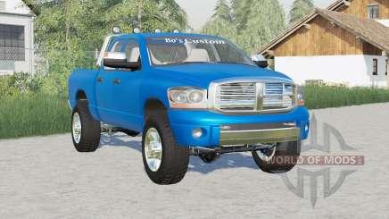 Dodge Ram 2500 Quad Cab 2006〡Rockstar wheels для Farming Simulator 2017
