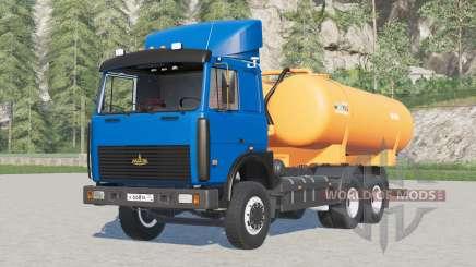 МАЗ 6303 КО 505А〡выбор цвета кабины и кузова для Farming Simulator 2017