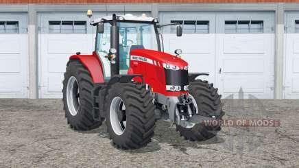 Massey Ferguson 7726〡interactive control для Farming Simulator 2015
