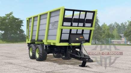 Kaweco Pullbox 8000H〡three different tire config для Farming Simulator 2017