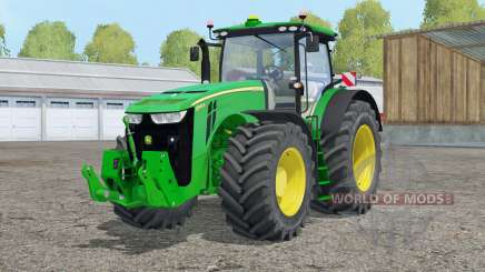 John Deere 8370R〡realistic indoor cam для Farming Simulator 2015