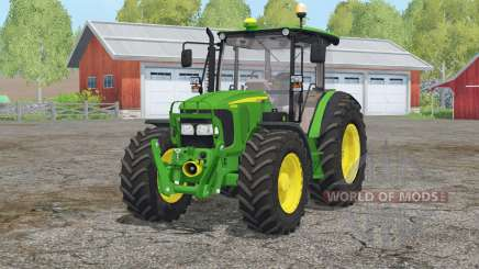 John Deere 5080M〡with FL console для Farming Simulator 2015