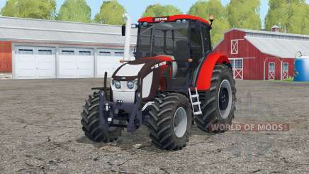 Zetor Forterra 135 16V〡with FL console для Farming Simulator 2015
