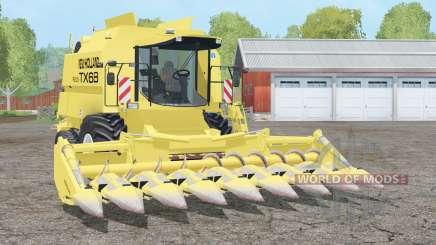 New Holland TX68 plus для Farming Simulator 2015