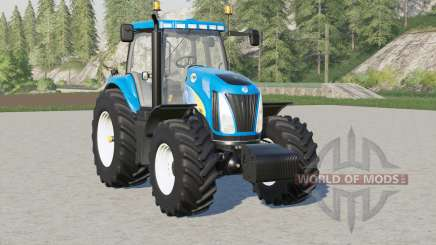 New Holland TG series〡EU для Farming Simulator 2017