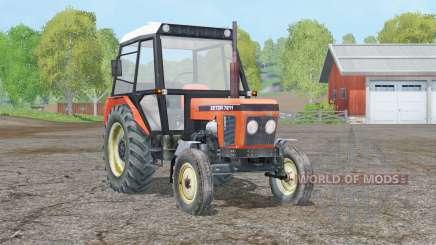 Zetor 7211〡movable axis для Farming Simulator 2015
