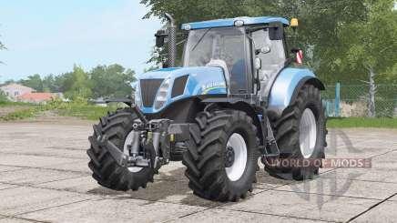 New Holland T7 series〡various tires для Farming Simulator 2017
