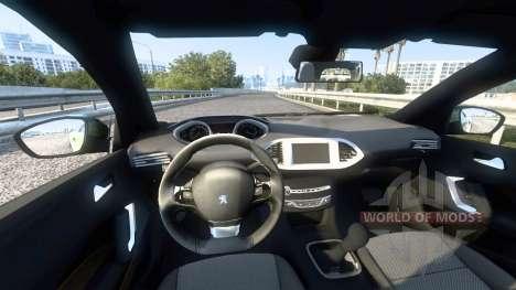 Peugeot 308 (T9) 2014 для American Truck Simulator