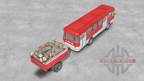 ЛиАЗ-677 для Spin Tires