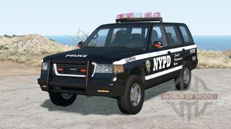 Gavril Roamer NYPD Traffic Enforcement для BeamNG Drive
