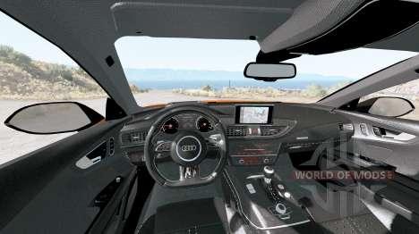 Audi RS 7 Sportback 2016 v1.2 для BeamNG Drive