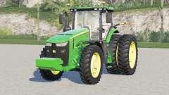 John Deere 8R series〡all motor configuration для Farming Simulator 2017