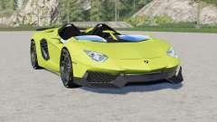 Lamborghini Aventador J 2012 для Farming Simulator 2017