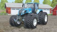 New Holland T8.435〡tinted windows для Farming Simulator 2015