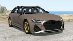 Audi RS 6 Avant (C8) 2019 для BeamNG Drive