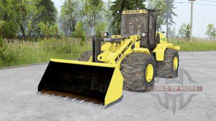 New Holland W170C v1.5 для Spin Tires