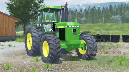 John Deere 4455〡with front loader для Farming Simulator 2013