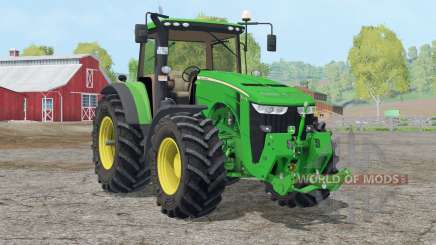 John Deere 8370R〡folding front linkage для Farming Simulator 2015