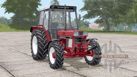 International 744〡movable front axle для Farming Simulator 2017