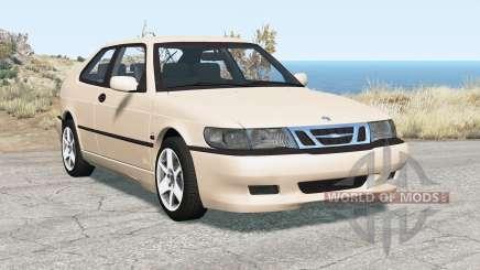 Saab 9-3 Aero coupe 1999 для BeamNG Drive