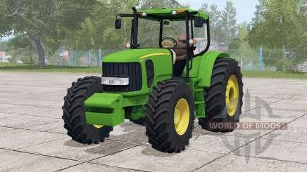 John Deere 6180 J для Farming Simulator 2017